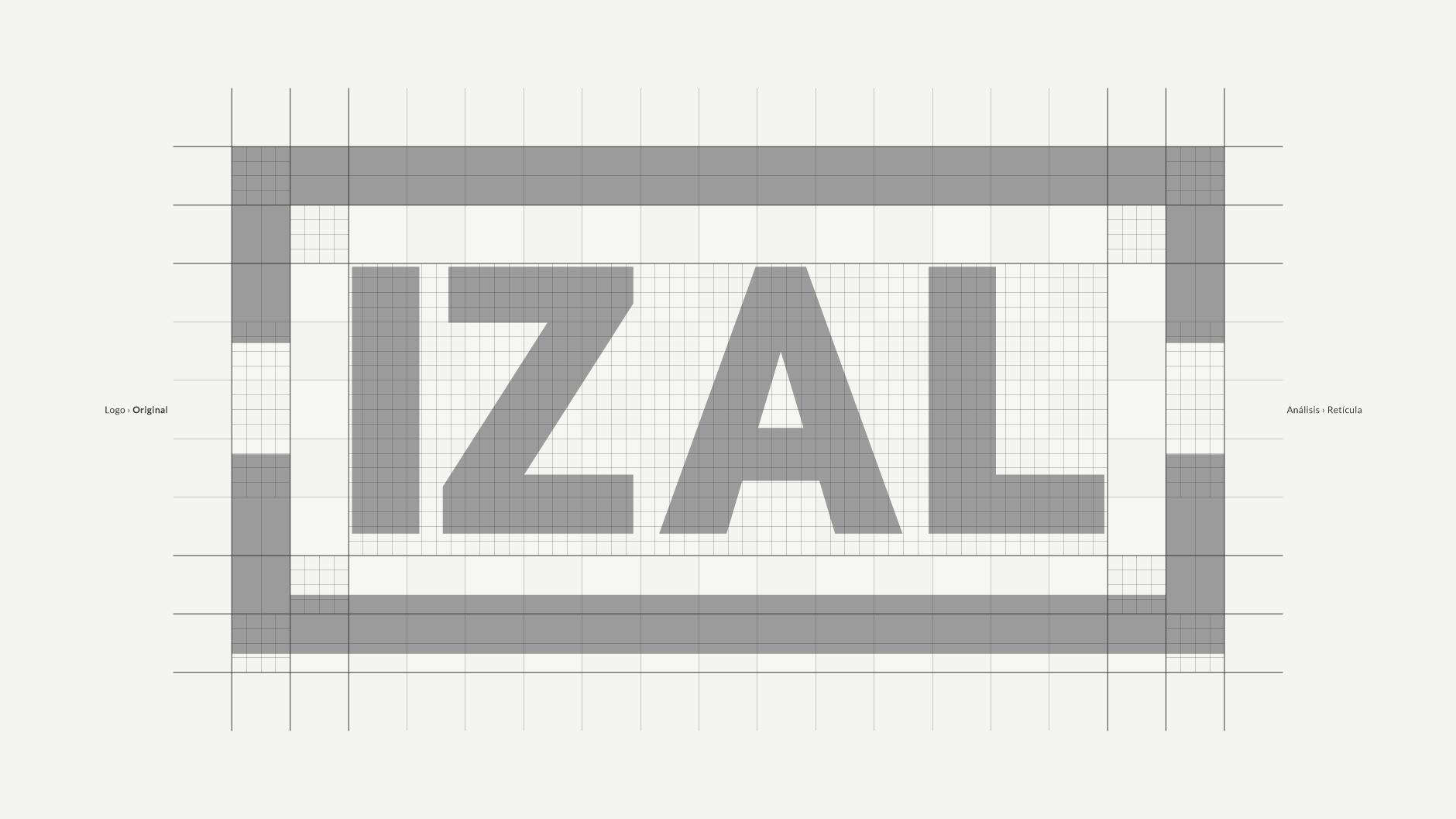 Diseño de Logotipo IZAL Logo - tabarestabares