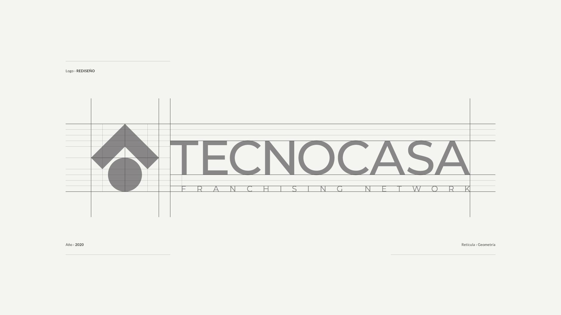 Diseño de Logotipo Tecnocasa Logo - tabarestabares