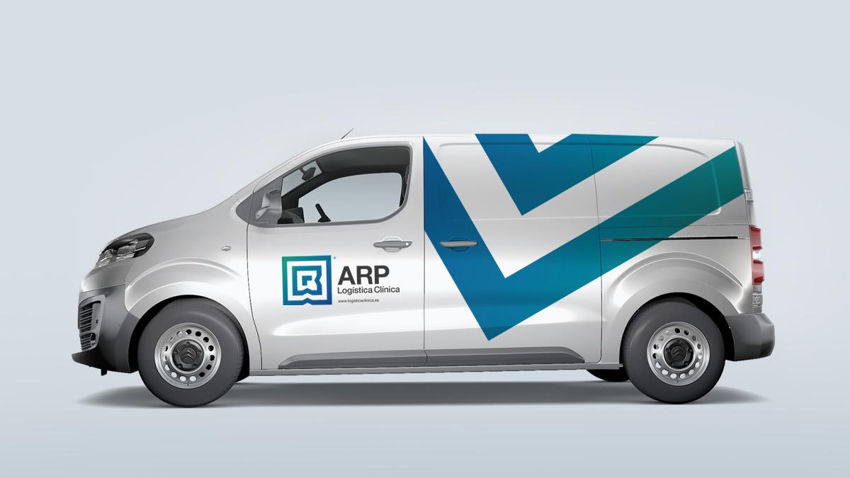 Diseño Gráfico ARP Logística Clínica - tabarestabares