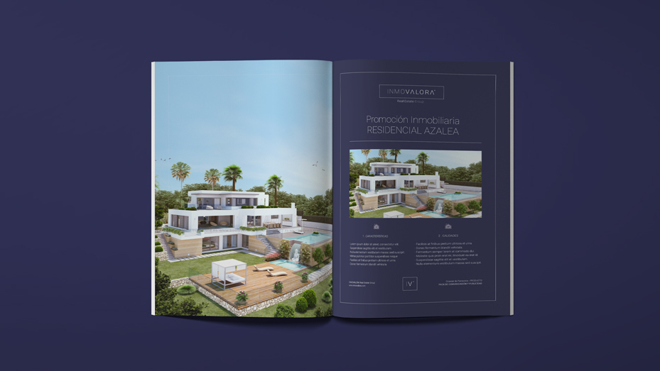 Diseño Gráfico Inmovalora Consultora Inmobiliaria - tabarestabares